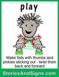 C's books are fun stories for kids that will easily teach American Sign… Sign Language Basics, Sign Language Chart, Sign Language Phrases, Sign Language Interpreter, Sign Language Alphabet, Learn Sign Language, Fun Stories, Stories For Kids, Learning Asl