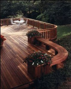 Home Design-Interior-Exterior-Decorating-Remodelling: Deck Design: Multi-level decks can be very smart