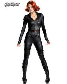Womens Theatrical Quality Avengers Black Widow Costume