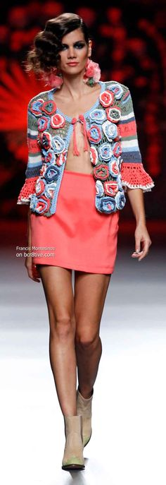 Francis Montesinos Spring 2014 #MBFW Madrid