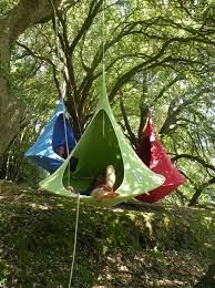 camping ideas - I refuse to sleep in anything else.