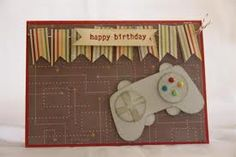 Gamers birthday card