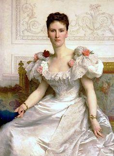 Louise de Rohan Chabot, Comtesse de Cambacérès, 1895 (William-Adolphe Bouguereau) (1825-1905) Seattle Art Museum, WA, 88.16