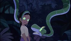 The Jungle Book 2 - Animation Screencaps Kaa The Snake, Female Characters, Disney Characters, Fictional Characters, The Jungle Book 2, Man Cub, Rose Got, Funny Disney Jokes, Letting Go Of Him