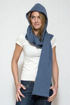 Katoenenzo - De maatkleding webwinkel : Basic . Unisex . Capuchon Sjaal