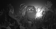 Marilyn Myller: A New Stop-Motion Animation Made with Styrofoam Puppets and Long-Exposure Light Effects by Mikey Please
