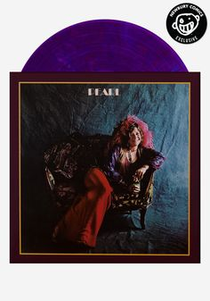 Janis Joplin - PEARL - Newbury Comics Exclusive Limited Edition Color Vinyl Record! Only 1000 made of this iconic classic album. 180 gram vinyl with foil-stamp numbering. #classicrock #bobbymcgee