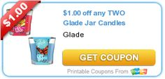 Tri Cities On A Dime: $1.00 COUPON ON ANY 2 GLADE JAR CANDLES