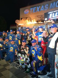 Victory Lane at TMS 4/4/14