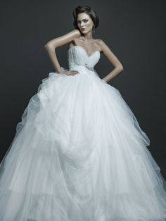 2015 new collection wedding dress