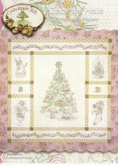 Deck The Halls by LavenderQuiltShop on Etsy