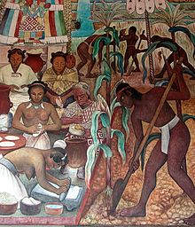 Diego Rivera  / 50 Most Influential and Famous Paintings of All Time http://www.kuyadex.info/2017/04/50-Most-Influential-Famous-Paintings-All-Time.html