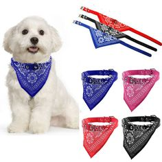 Other Dog Supplies Small Adjustable Pet Dog Cat Bandana Tie Scarf Collar Neckerchief National & Garden Dog Collars & Leashes, Leather Dog Collars, Cat Bandana, Bandana Scarf, Dog Supplies, Peta, E Bay, Dog Care, Doge