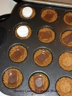 S'mores Cups Recipe Pampered Chef | Recipe S'mores Cups by Rhonda's Rants, Ravings and Cravings