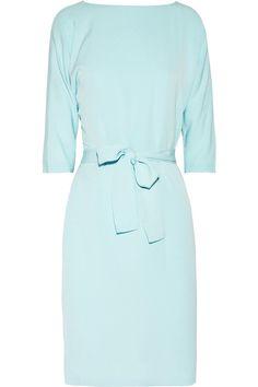 Diane Von Furstenberg Maja Silk-crepe Dress - LoLoBu   ~ ADORE AZURE I had this dress as a teenager!