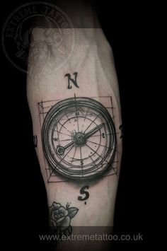 Compass tattoo,done at Extreme Tattoo&Piercing Inverness,Highland, Scotland by Catalin Gal. At our studio,you can get all kind of tattoos and piercings, like Realistic, Black and grey tattoo, Japanese tattoo, Traditional, Floral, Chinese tattoo, Fine line art tattoo, Old school tattoo, Tribal Tattoo, Maori tattoo, Religious tattoo, Pin-up tattoo, Celtic tattoo, New school tattoo, Oriental tattoo, Biomechanical tattoo and lots of other designs .For bookings, email studio@tattooscotland.co.uk!