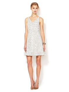 V-Neck Fit and Flare Dress by Elorie at Gilt