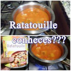 Ratatouille Conheces??? Comida estranha pra  mim:D
