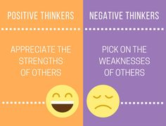 10 Ways Positive Thinkers And Negative Thinkers React Differently To The World