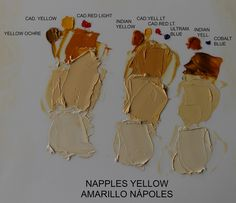 NAPPLES YELLOW