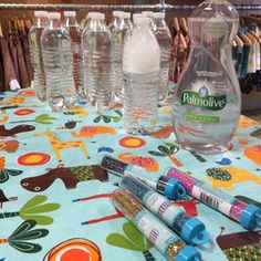 We had a great time at the science party we hosted with Seattle store Satsuma last weekend! A big hit was the tornado in a bottle activity – great for even the