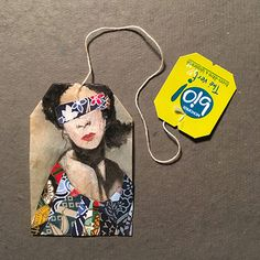 """Weeks of Tea"""" – NYC-Artist Ruby Silvious Uses Tea Bags as Canvas for Detailed Daily Miniature Art Tea Bag Art, Tea Art, Tee Kunst, Used Tea Bags, Creation Art, Art Sculpture, Illustration Art, Illustrations, Artist Trading Cards"""