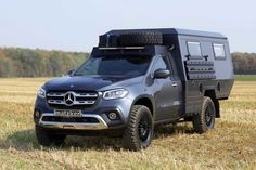 Mercedes Benz X Class Camper Redefines Luxury Off Grid Living Mercedes Benz Classes, Mercedes Sprinter Camper, Mercedes Benz Trucks, Luxury Campers, Camping With Cats, Offroader, Cool Vans, Classic Mercedes, Truck Camping