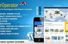 Tour Operator v.3.3 - WP theme with Reservation System