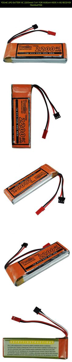 Youme lipo battery 8C 2200mAh 7.4V For Hubsan H501S 4-xis Receiver Transmitter #parts #drone #kit #lipo #technology #gadgets #plans #racing #transmitter #shopping #fpv #hubsan #battery #camera #products #tech
