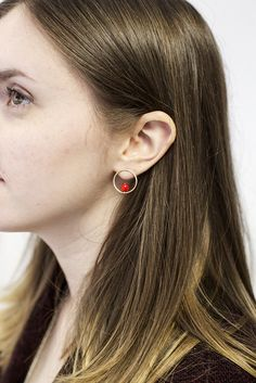 These earrings take hoops to a whole new level and let me be the first to say- I am loving it.
