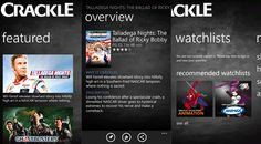 Crackle brings its movie-streaming party to Windows Phone