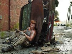 TWD S5 Promo pic // Sgt. Abraham Ford