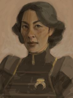 Chief Lin Bei Fong from Avatar: Legend of Korra. Best realistic rendition I've ever, EVER seen.