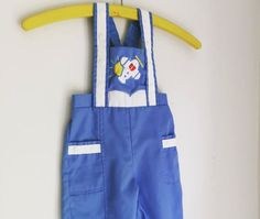 Vintage kids airplane overalls 9 to 12 months Tinytot Originals by fuzzymama on Etsy
