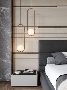 Mila Pendant by Matthew McCormick MIL 7 COP is part of Bedroom lighting - Design Living Room, Modern Bedroom Design, Contemporary Bedroom, Bedroom Designs, Living Rooms, Modern Bedroom Lighting, Modern Classic Bedroom, Modern Luxury Bedroom, Modern Bedrooms