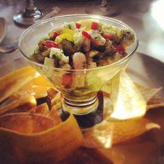 Ceviche.  Yum. #dinner #ceviche #besito #huntington #longisland - @Samantha Briglio- #webstagram