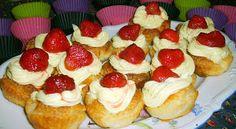 W Mojej Kuchni Lubię..: pysznie pyszne francuskie babeczki z karpatkowym k...