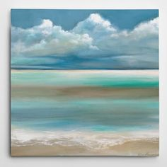 Wexford Home Ruane Manning 'Tranquility By The Sea I' Gallery-wrapped Canvas Wall Art | Overstock.com Shopping - The Best Deals on Gallery Wrapped Canvas