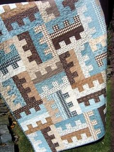 Nice Pattern - Would love to own a quilt made of this!