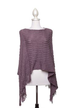 Dressing Your Truth - Type 2 Missing You Poncho