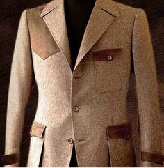 Tweed hunting jacket Male Fashion, Big Men Fashion, Country Fashion, Latest Fashion, Fashion Tips, Fashion Outfits, Tweed Suits, Tweed Blazer, Tweed Jacket