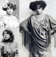 "Aida Overton Walker (1880-1914) was an African-American vaudeville actress who performed alongside her husband George Walker. She was considered one of the best female dancers of her time and called ""The Queen of the Cakewalk"". The Cakewalk was a dance developed from the ""Prize Walks"" held in the late 19th century, generally at get-togethers on slave plantations in the Southern United States."