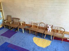 子供の椅子 設計 中村好文 安曇野美術館