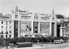 Eden cinema 1937, Restauradores, Lisbon, Portugal
