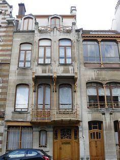 Saint Gilles, l'habitation de Victor Horta, rue Américaine, Bussels
