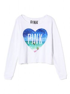 Shrunken Crew - PINK - Victoria's Secret