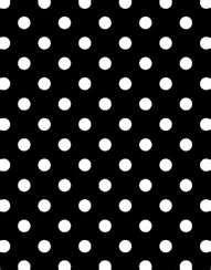 black white polkadot
