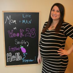 28 Weeks and Heading Into the Home Stretch! #ThirdTrimester