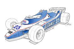 Ligier JS 12 1979 Didier Pironi