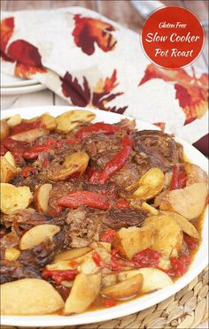 Love Mississippi Pot Roast but want a gluten free or dairy free version? Try this Gluten Free Slow Cooker Pot Roast recipe at This Mama Cooks! On a Diet